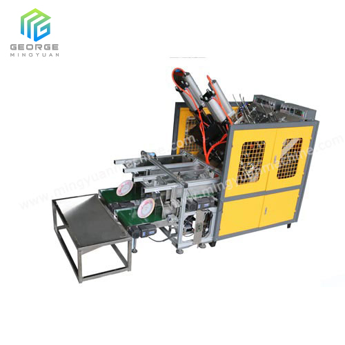 Air Cylinder type Paper Plate Machine with counting system