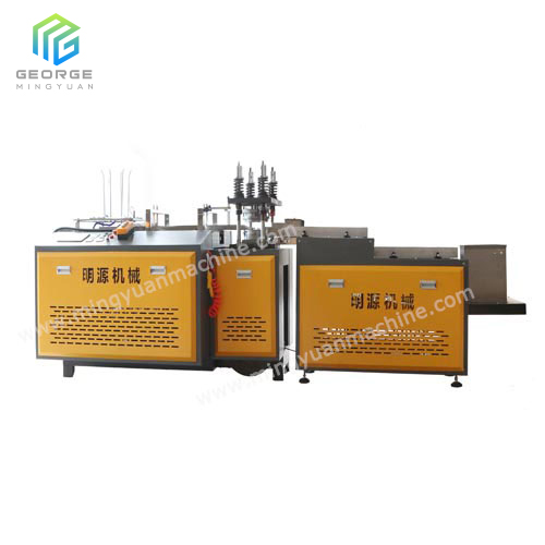 Mechanical Type Paper Plate Machine with counting system
