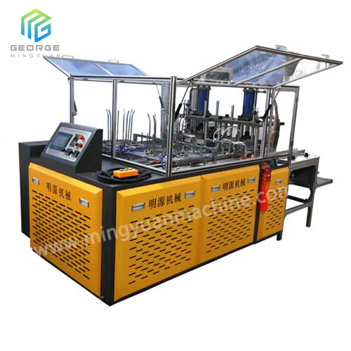 Hydraulic Station High Speed Paper Plate machine with double working station