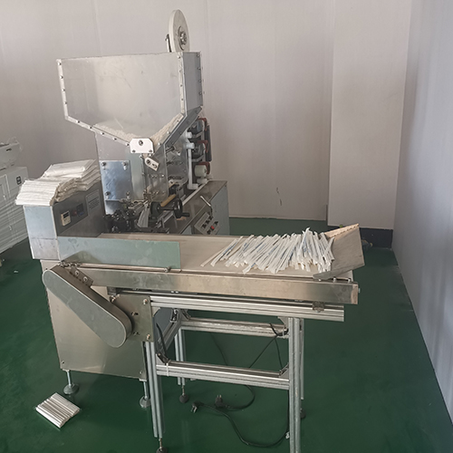 Paper Straw Individual Packing Machine with Two Color Printing Unit