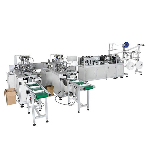 3 PLY Face Mask 1+1/1+2 Type Production Line