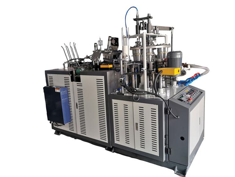 JBZ OCS12 Ultrasonic Heater Open Cam Single Plate Middle Speed Paper Cup Machine 10