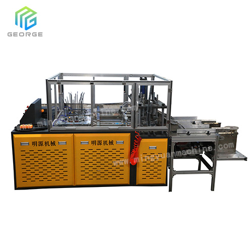 New Mingyuan Design Mechanical And Hydraulic Type High Speed Paper Plate Machine